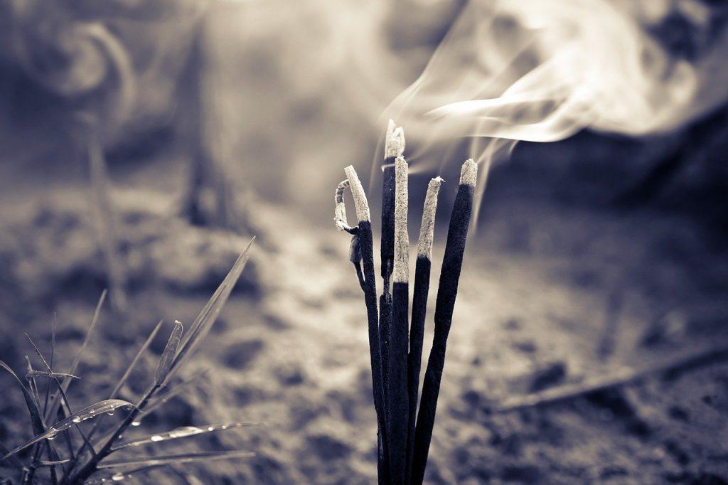 burn, burning, incenses