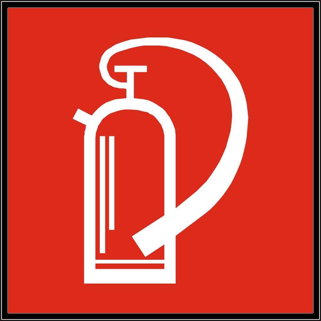 fire-extinguisher, hand-held extinguisher, fire drencher