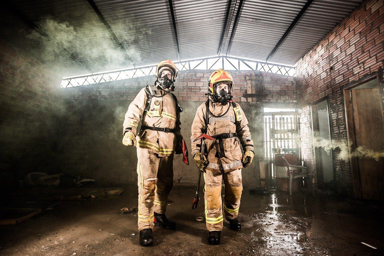 fire, volunteer firefighters, rescue